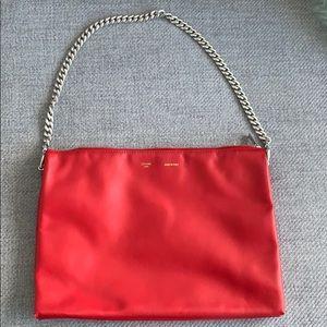 Celine trio bag. Red.